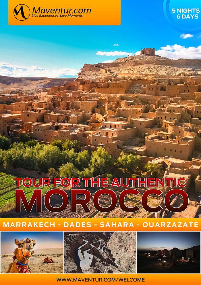 Tour for the authentic morocco maventur