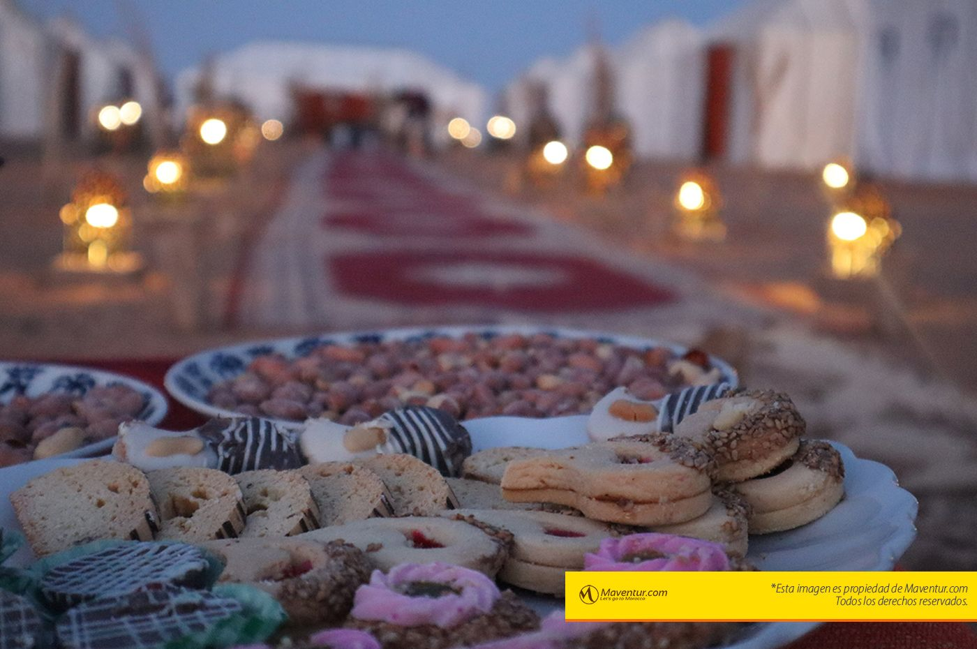 Maventur haimas lujo en sahara dulces y té