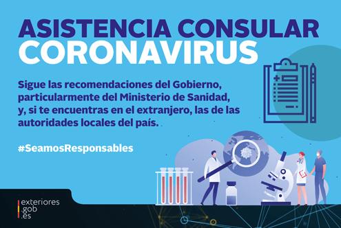 Maventur asistencia consular coronavirus