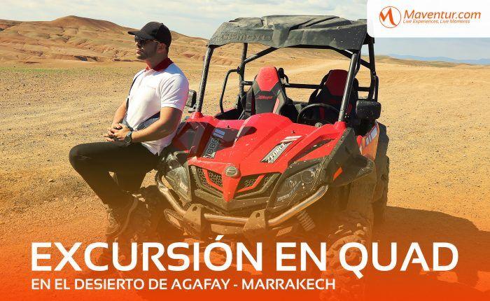 Excursión en el desierto de Agafay en Marrakech maventur